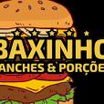 Logo Baxinho Lanches Fundo Transparente